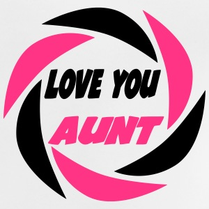 Love you aunt 333 T-shirts - Baby T-shirt