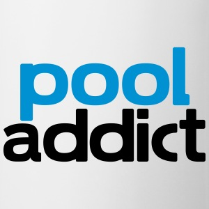 pool addict T-Shirts - Mug