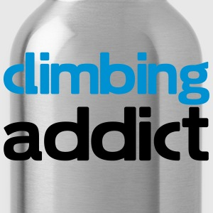 climbing addict T-Shirts - Water Bottle