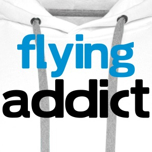 flying addict T-Shirts - Men's Premium Hoodie