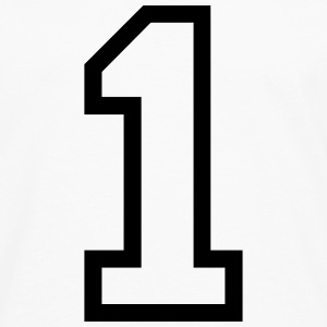 THE NUMBER 1-ONE Shirts - Men's Premium Longsleeve Shirt