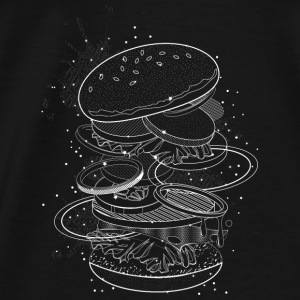 Burger design Sweat-shirts - T-shirt Premium Homme