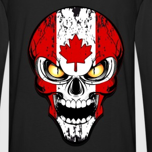 canada skull Sweat-shirts - T-shirt manches longues Premium Homme