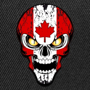 canada skull Tee shirts - Casquette snapback