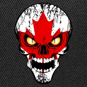 canada skull 03 Tee shirts - Casquette snapback
