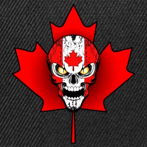 canada skull 02 Tee shirts - Casquette snapback