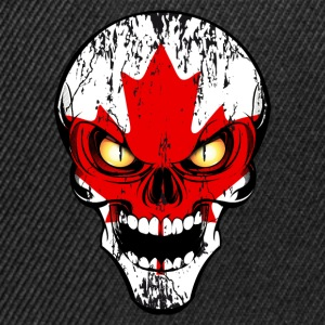 canada skull 03 Sweat-shirts - Casquette snapback