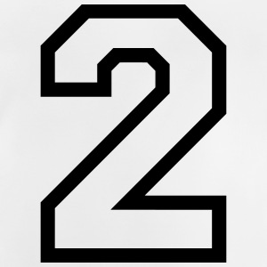 THE NUMBER TWO, 2 Shirts - Baby T-Shirt