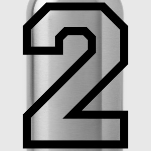 THE NUMBER TWO, 2 T-Shirts - Water Bottle