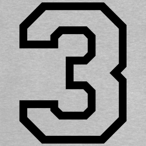 THE NUMBER 3-3 Long Sleeve Shirts - Baby T-Shirt