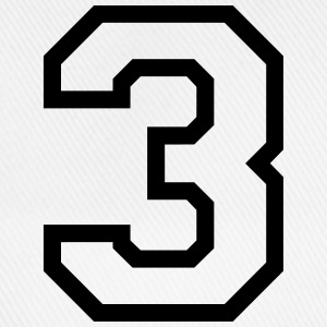 THE NUMBER 3-3 Sports wear - Baseball Cap