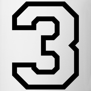 THE NUMBER 3-3 Sports wear - Mug