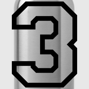THE NUMBER 3-3 Shirts - Water Bottle