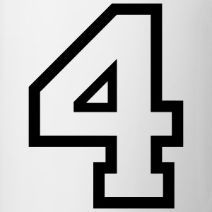 THE NUMBER 4-4 Shirts - Mug