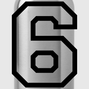 THE NUMBER 6-6 Tops - Water Bottle