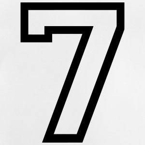 THE number seven, 7 years T-shirts - Baby-T-shirt