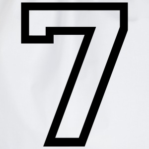 THE number seven, 7 years Camisetas - Mochila saco