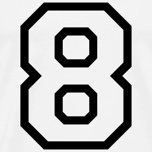 THE NUMBER EIGHT-8 Bodies bebé - Camiseta premium hombre