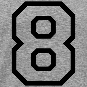 THE NUMBER EIGHT-8 Sweaters - Mannen Premium T-shirt