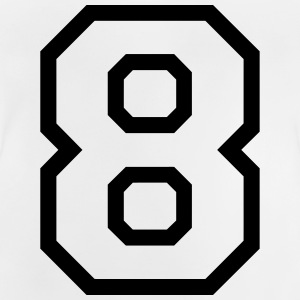 THE NUMBER EIGHT-8 Tee shirts - T-shirt Bébé