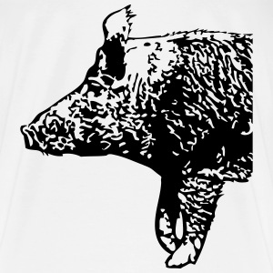 Wild Boar  Hoodies & Sweatshirts - Men's Premium T-Shirt
