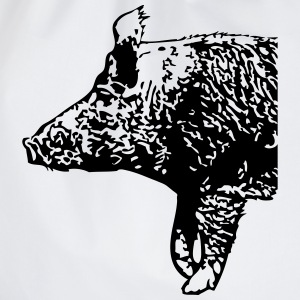 Wild Boar  T-Shirts - Drawstring Bag