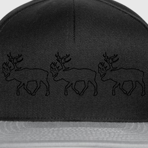 Caribou - Reindeer- xmas Sweat-shirts - Casquette snapback