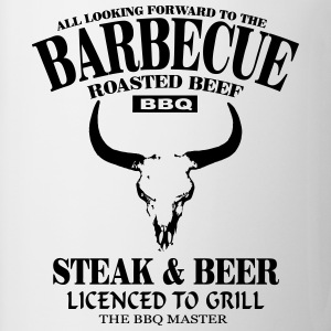 Barbecue - Steak & Beer T-shirts - Mok