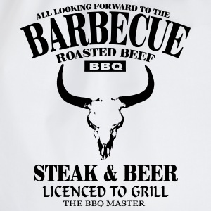 Barbecue - Steak & Beer Singlets - Gymbag
