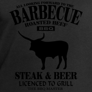 Barbecue - Steak & Beer Singlets - Sweatshirts for menn fra Stanley & Stella