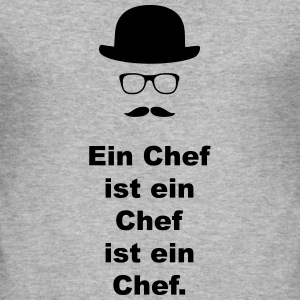 Chef.  - Männer Slim Fit T-Shirt