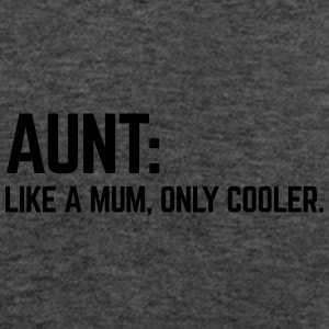 Aunt Like A Mum Caps & Hats - Women's Tank Top by Bella