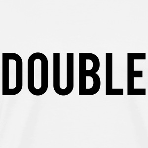 Double Trouble Tee shirts - T-shirt Premium Homme
