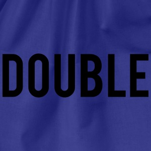 Double Trouble Hoodies - Drawstring Bag