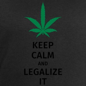 keep calm and legalize it Bags & Backpacks - Men's Sweatshirt by Stanley & Stella
