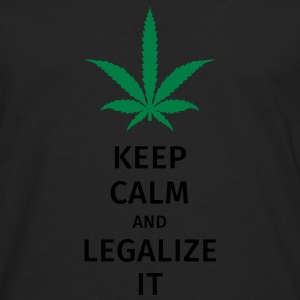 keep calm and legalize it T-Shirts - Men's Premium Longsleeve Shirt