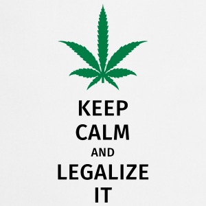 keep calm and legalize it Torby i plecaki - Fartuch kuchenny