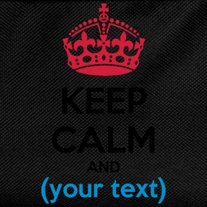 Keep calm text - testo - Zaino per bambini