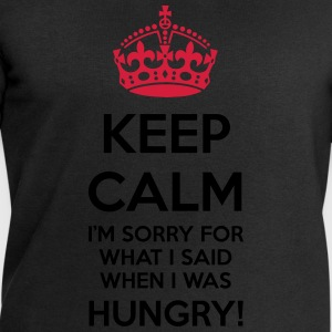 Keep calm hungry sorry - Affamato scusa - Felpa da uomo di Stanley & Stella