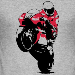 Moto-GP Racing Hoodies & Sweatshirts - Men's Slim Fit T-Shirt