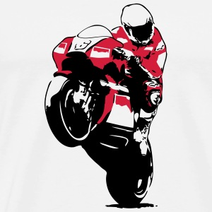 Moto-GP Racing Hoodies & Sweatshirts - Men's Premium T-Shirt