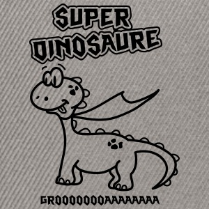 Super Dinosaure Tee shirts - Casquette snapback
