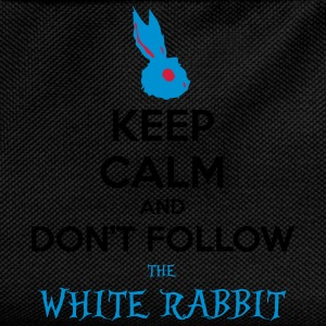 White Rabbit Keep Calm wonderland alice paese - Zaino per bambini