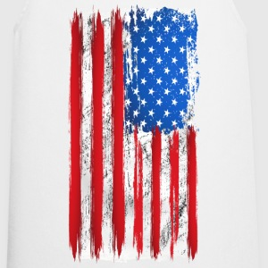 us grunge flag 02 Tee shirts - Tablier de cuisine