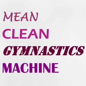 Mean Clean Gymnastics Machine - Purple Shirts - Baby T-Shirt