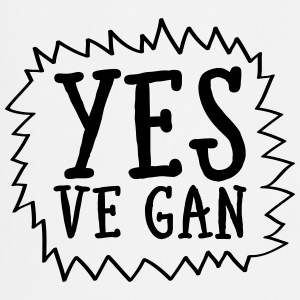 Yes Ve Gan T-Shirts - Cooking Apron