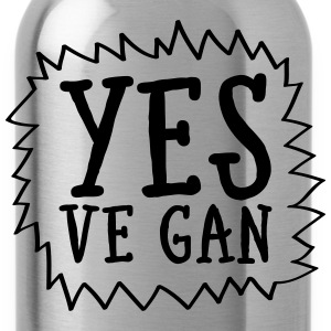 Yes Ve Gan T-Shirts - Water Bottle