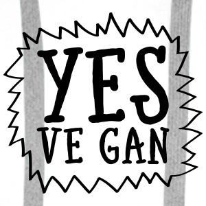 Yes Ve Gan Bags & Backpacks - Men's Premium Hoodie