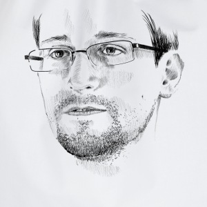 Edward Snowden T-Shirts - Drawstring Bag