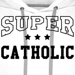 Christian / Catholic / God / Religion Catholicism  Aprons - Men's Premium Hoodie
